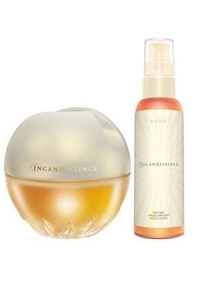 Avon Incandessence Kadın Parfüm Ve Vücut Spreyi Seti 0