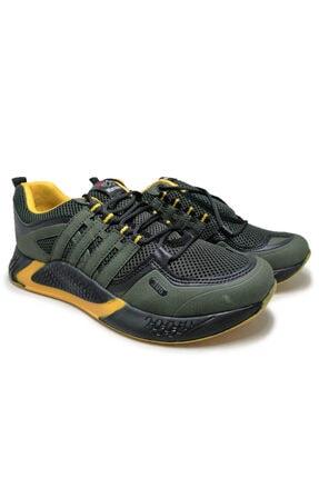 Beyken Ayakkabı Beyken Terrano Rahat Ortopedik Taban Erkek Günlük Haki Spor Ayakkabı 3