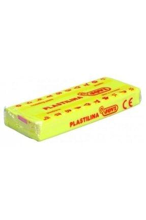 Jovi Jovı 70 Oyun Hamuru Fosforlu Renkler 50 Gram Neon Sarı Plastılına 0