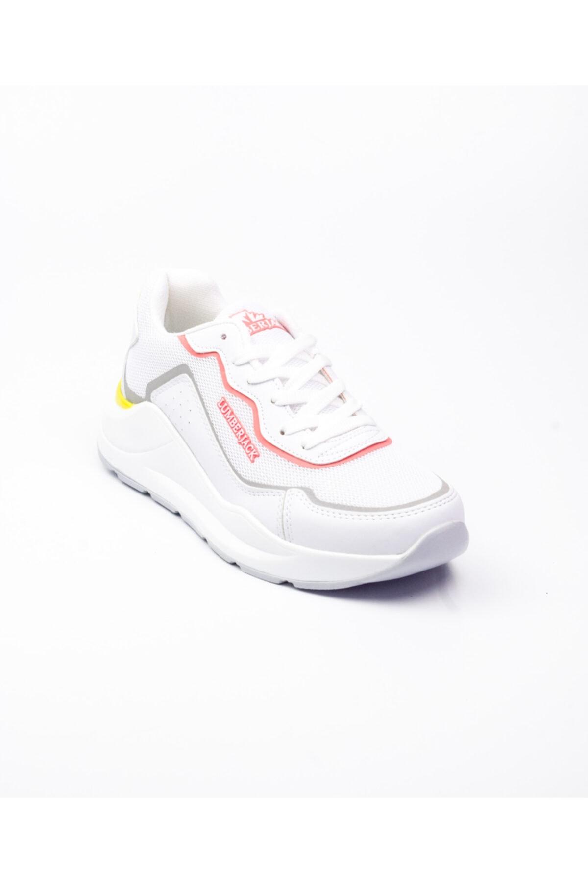 Unisex Beyaz lumberjack 100486522 Heidi Kadın Sneaker Ayakkabı Beyaz-36