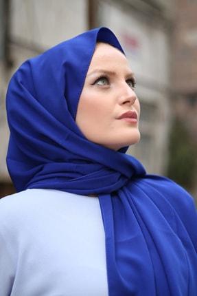 Stella Medine Ipeği Şal Saks Mavi 4