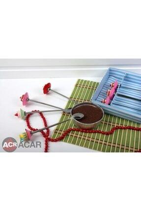 ACAR Acr Tatlı Kaşık - Çatal 8 Prç. 0