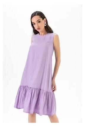 Tiffany A0263 Keten Salaş Elbise 1