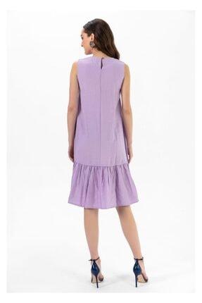 Tiffany A0263 Keten Salaş Elbise 3