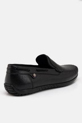 Hotiç Hakiki Deri Siyah Erkek Loafer 2