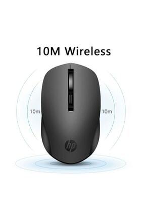 HP S1000 Plus Kablosuz Sessiz Mouse Siyah 3