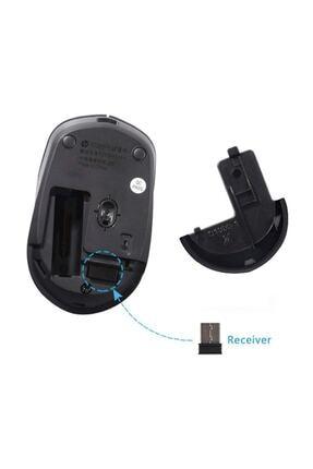 HP S1000 Plus Kablosuz Sessiz Mouse Siyah 4