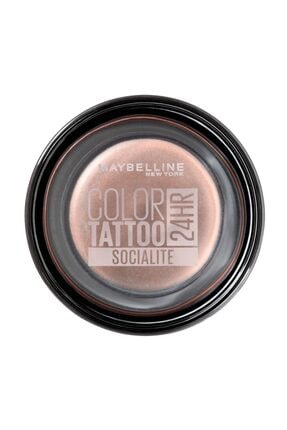 Maybelline New York Krem Göz Farı - Color Tattoo 24HR 150 Socialite 3600531581466 0