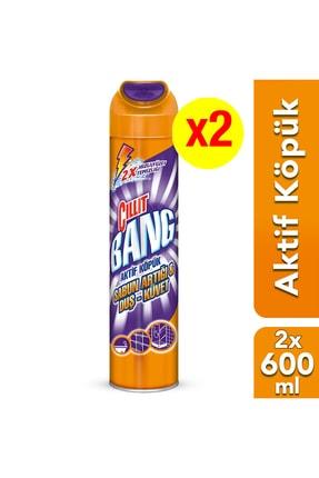 Cillit Bang Banyo Temizleyici Aktif Köpük 600 ml x 2 Adet 0