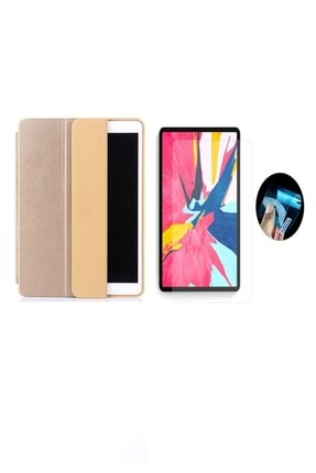 Dijimedia Ipad Mini 4. Nesil Uyku Modlu Deri Smart Lansman Tablet Kılıf+9h Bükülen Nano Koruyucu (a1538 A1550) 0