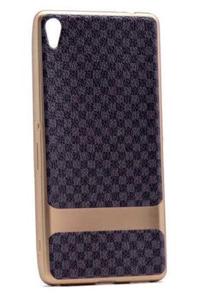 Dijimedia Sony Xperia Xa Ultra Kılıf Deri Lazer Kaplama Silikon 3
