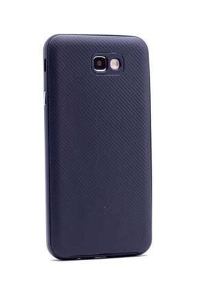 Zore Galaxy J7 Prime Kılıf Ince Mono Karbon Silikon Kapak 3