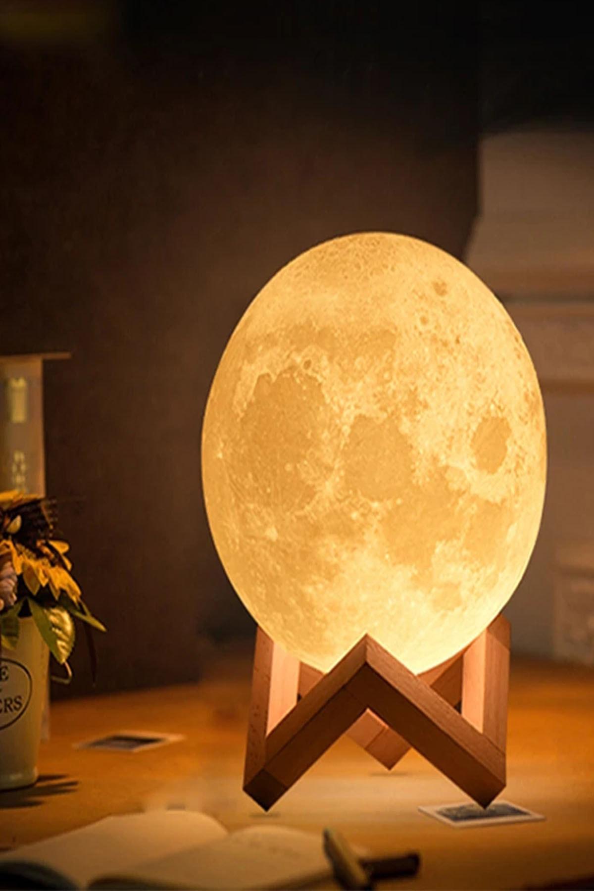 ORİJİNALDÜKKAN Gün Işığı Moonlight Dolunay Gece Lambası 0
