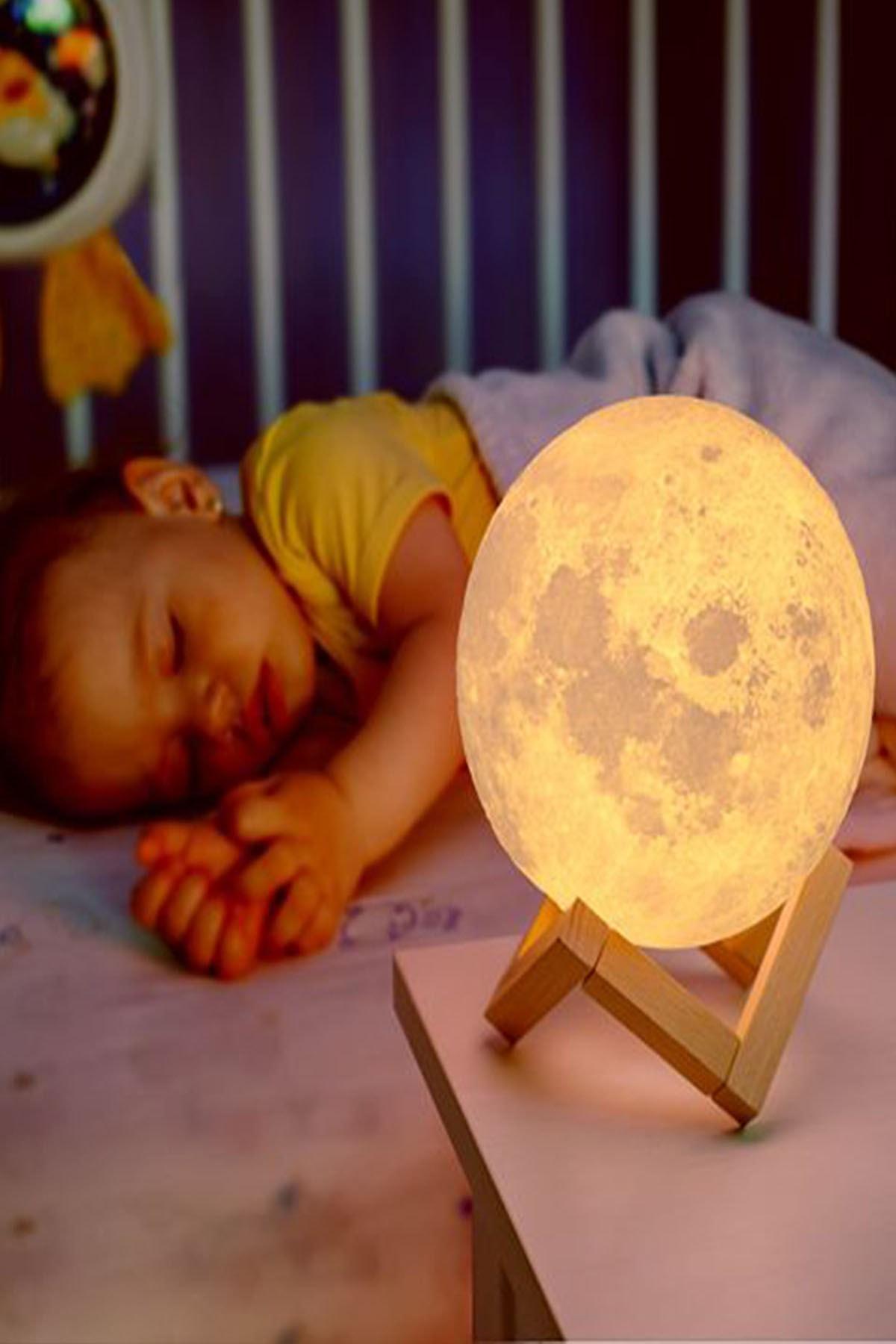 ORİJİNALDÜKKAN Gün Işığı Moonlight Dolunay Gece Lambası 1