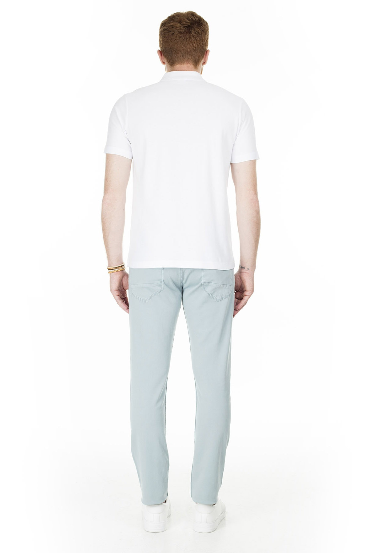 Buratti Erkek AÇIK MAVİ Normal Bel Dar Paça Slim Fit Jeans Pamuklu Kot Pantolon 7299F0287ARTOS 4