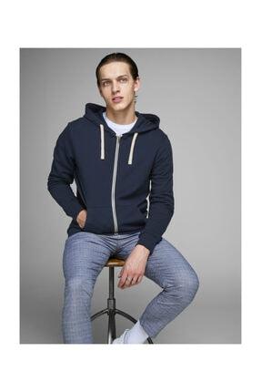 Jack & Jones Sweatshirt - Holmen Sweat Zip Hood 12136884 0