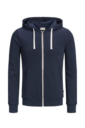 Jack & Jones Sweatshirt - Holmen Sweat Zip Hood 12136884 1