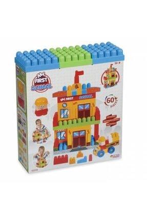 Dede Oyuncak Fen Toys Benim Ilk Okulum 60 Parça Lego Seti 0
