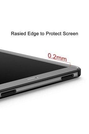 MOBAX Samsung Galaxy Tab A 8.0 T290 T295 T297 Kılıf İnce Arka Yumuşak Silikon Kılıf Şeffaf 3