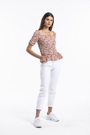 Bipantolon Prenses Kol Kiremit Bluz 3