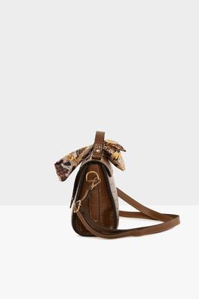Bagmori Kroko Taba Kadın Kapaklı Şallı Askılı Çanta M000003228 2