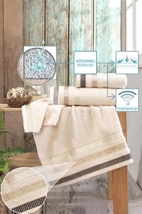 Binnur Home Binnur Home Banyo Havlu Takımı 70x140-50x90 2