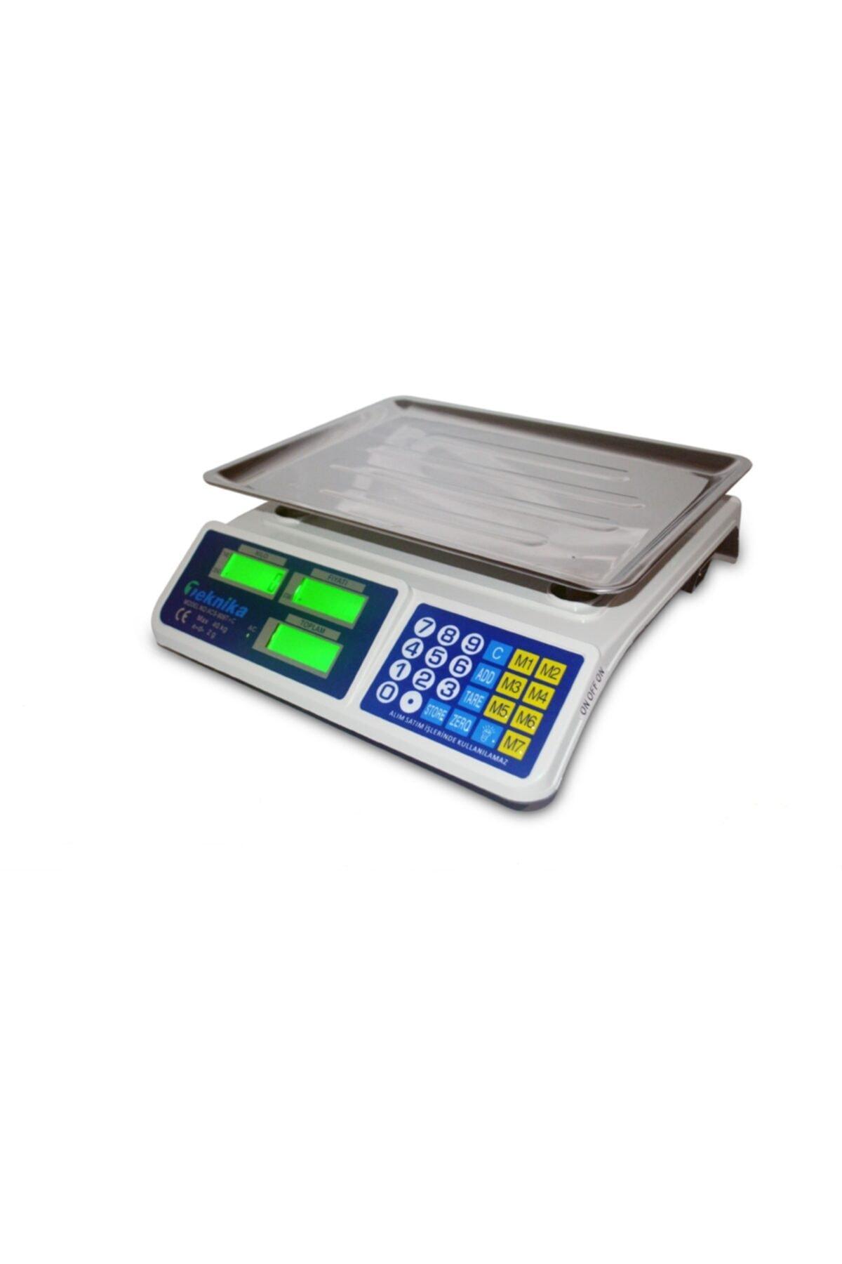 Pilli Ve Şarjlı Elektronik Terazi 40 kg