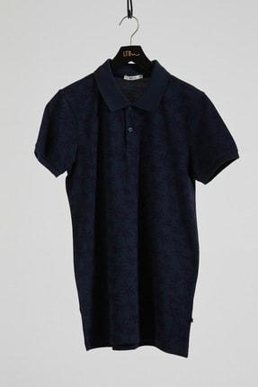 Ltb Erkek  Lacivert Polo Yaka T-Shirt 012208430760890000 0
