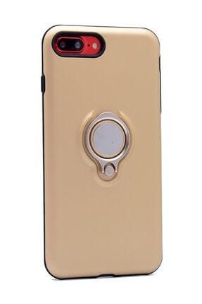 KNY Apple Iphone 8 Plus Kılıf Ultra Korumalı Sert Ring Youyou Kapak+nano Cam Ekran Koruyucu 0
