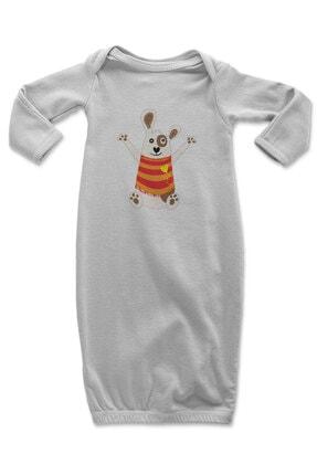 Angemiel Baby Sevinen Köpek Erkek Bebek Uyku Tulumu Beyaz 0
