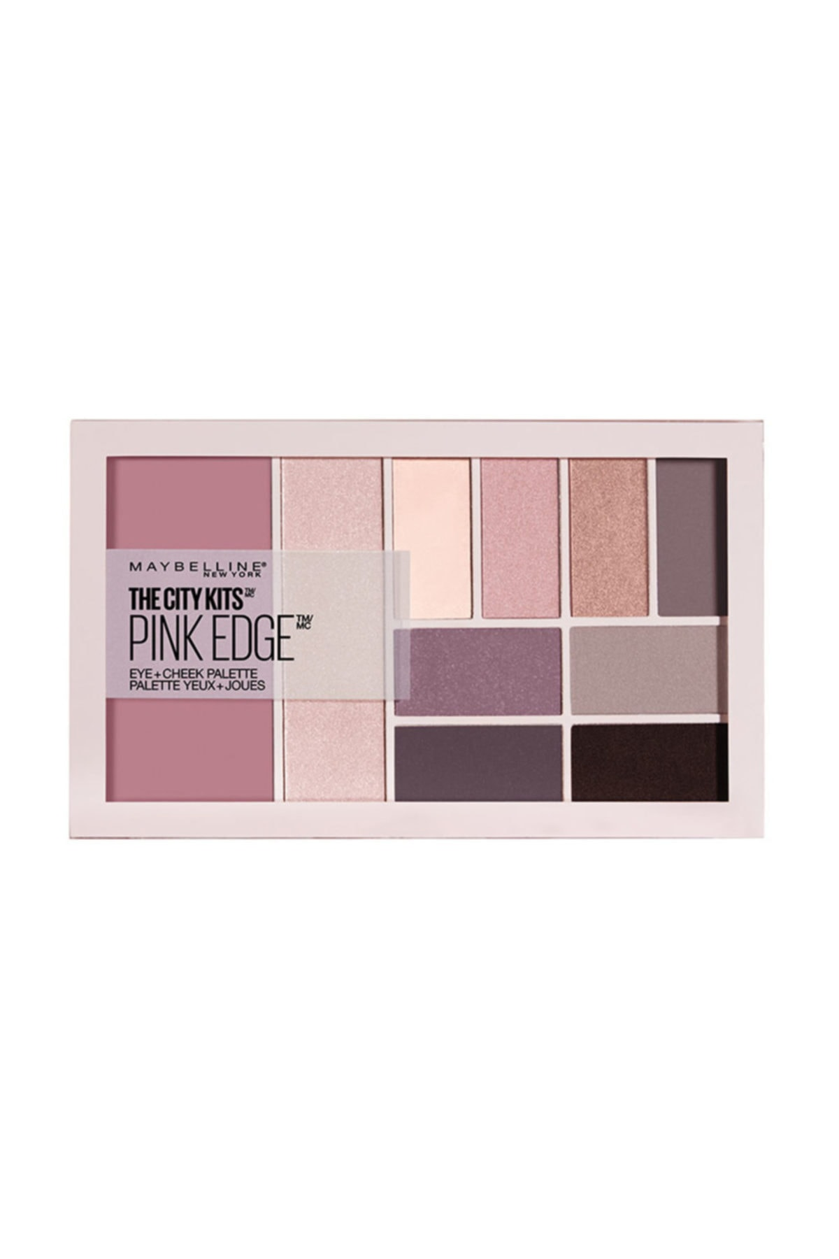 Göz ve Ten Paleti - The City Kits Pallette Pink Edge 3600531434632