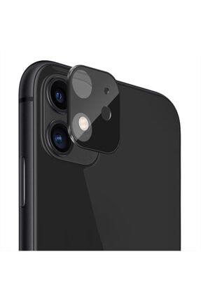 Microsonic Apple Iphone 11 (6.1'') Kamera Lens Koruma Camı V2 Siyah 0