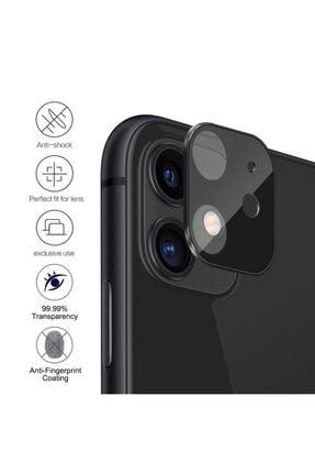 Microsonic Apple Iphone 11 (6.1'') Kamera Lens Koruma Camı V2 Siyah 2