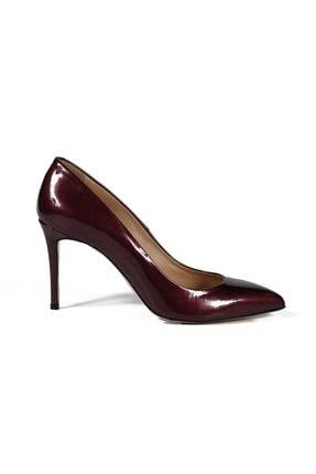 تصویر از Faye Bordo Rugan Kadın Stiletto & Abiye Ayakkabı