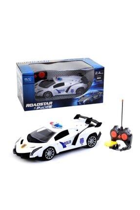Kayyum Oyuncak Oyuncak Rd-002 Uzaktan Kumandalı Polis Arabası Şarjlı Spor 28 Cm 2