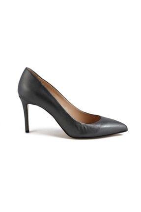 تصویر از کفش پاشنه بلند زنانه نارنجی