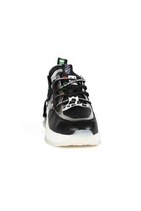 Sofia Baldi Kadın Nerea Siyah Kumaş Pimli Spor Ayakkabı 2