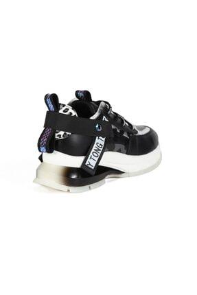 Sofia Baldi Kadın Nerea Siyah Kumaş Pimli Spor Ayakkabı 3