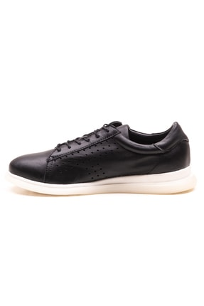 GRADA Siyah Deri Günlük Casual Kadın Ayakkabı 2
