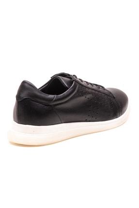 GRADA Siyah Deri Günlük Casual Kadın Ayakkabı 3