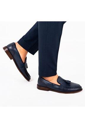 MPP Hakiki Deri Loafer Erkek Ayakkabı Trs503 Lacivert 1