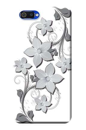 Kılıfmerkezi Realme C2 Kılıf (rmx1941) Desen Baskılı Silikon Sarmaşık Çiçek Stk:553 0