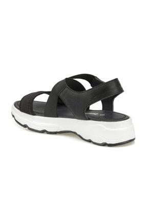 Polaris 315500.Z Siyah Kadın Sandalet 2