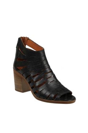 Hammer Jack Sıyah Bayan Ayakkabı 448 1306-Z 2