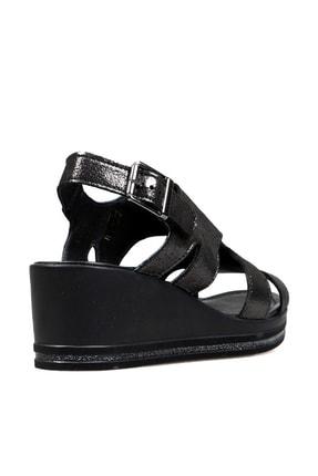 Hammer Jack Sıyah Bayan Terlik / Sandalet 549 Tena-02-z 2
