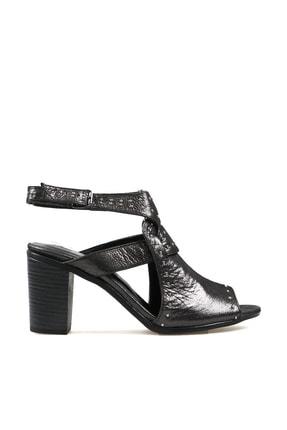 Hammer Jack Siyah Saten Kadın Ayakkabı 538 111-z 0