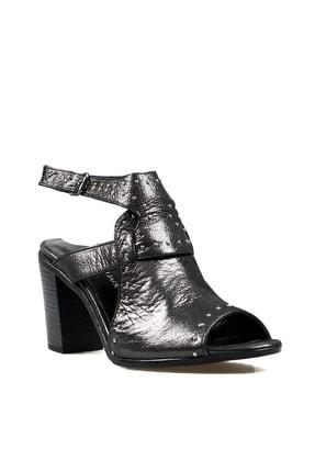 Hammer Jack Siyah Saten Kadın Ayakkabı 538 111-z 1