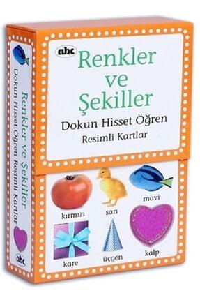 Abc Yayınları Dokun Hisset Öğren Renkler Ve Şekiller Eğitici Kartlar 0