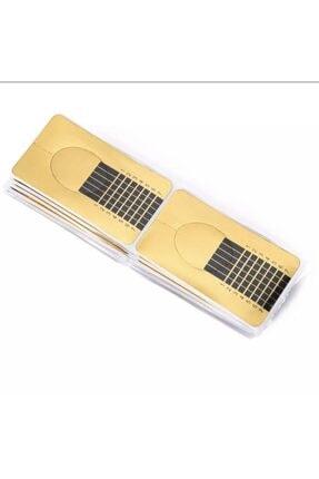 FASHION Protez Tırnak Şablonu 50 Adet 2