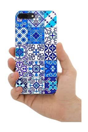 Melefoni Apple iPhone 7 Plus Kılıf Patchwork Serisi Julianna 0